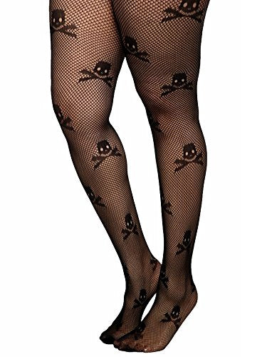 Skull Pattern Stockings