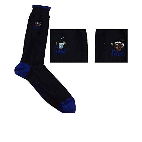 Sonia Spencer Sober Drunk Embroidered Men's Socks