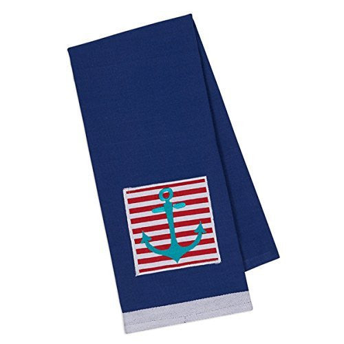 Nautical Anchor Dish Towel