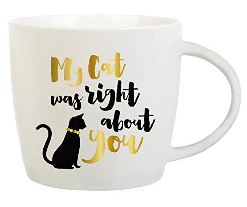 My Cat Was Right About You Coffe Mug