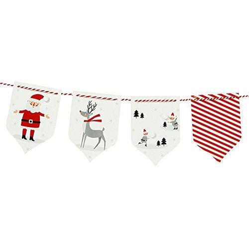 Waiting for Santa Garland Bunting, 3m, Multicolor