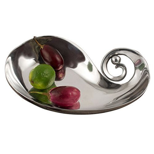 Modern Design Silver Polished Serving Bowl