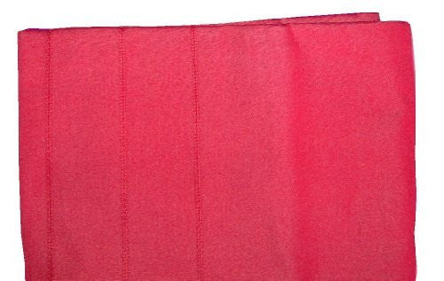 Red Pleated Tablecloth 60-Inch by 84-Inch