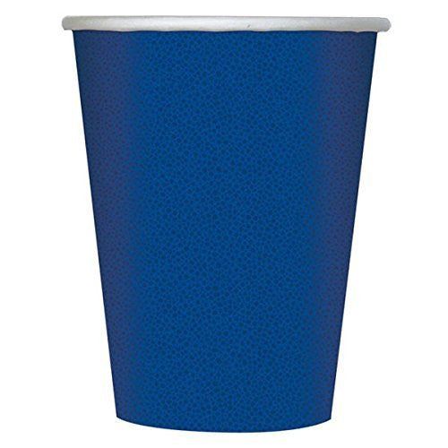 Navy Blue Paper Hot/Cold Cups