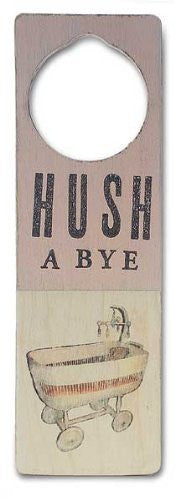 Tree By Kerri Lee Wooden Doorknob Sign Hushabye