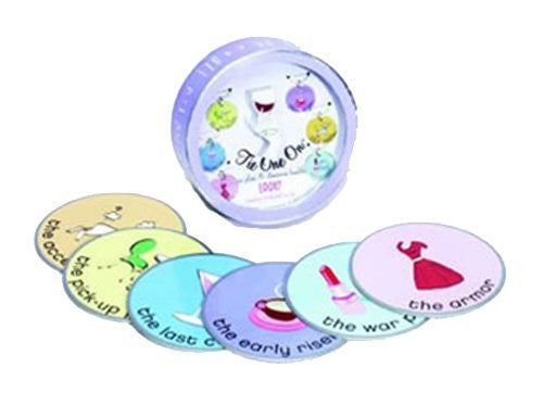 Single Gal Wine Glass Charms and Coasters