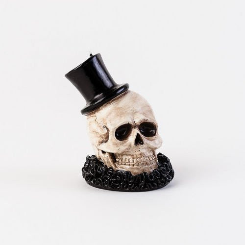 One Hundred 80 Degrees Skull Candle
