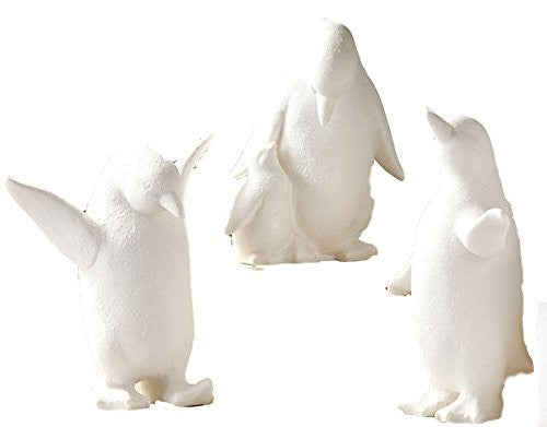 Two's Company Happy Penguin Family Figurines (Set/3)