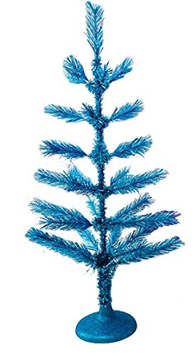 One Hundred 80 Degrees Tabletop Tinsel Tree