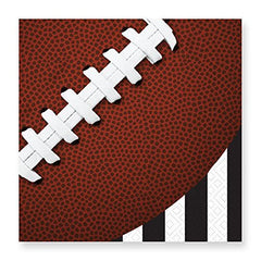 Design Design Football Touchdown Beverage Paper Napkins