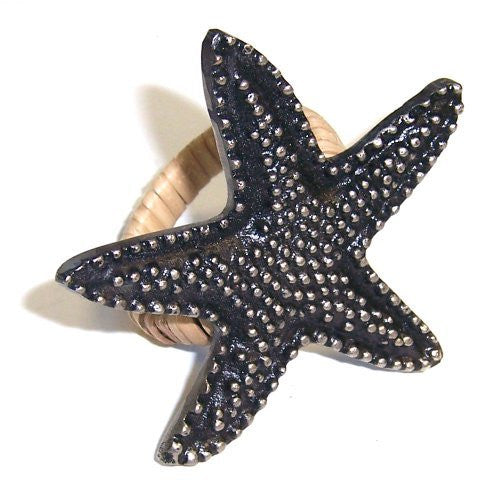 Starfish Design Napkin Ring
