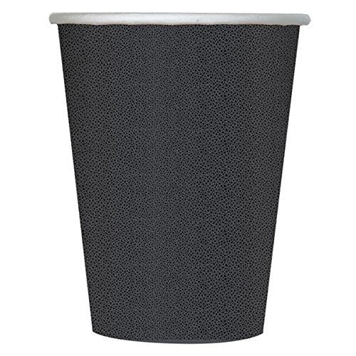 Black Pebble Paper Cups