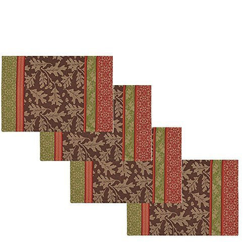 Great Oak Jacquard Placemats (Set/4)
