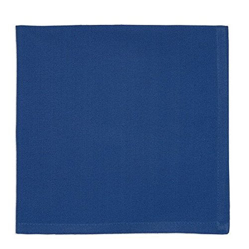 Design Imports Blue Cloth Napkins (Set/4)