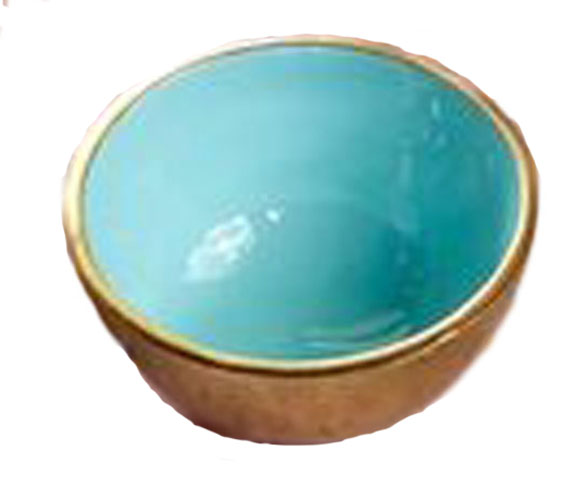 One Hundred 80 Degrees Colorful Decorative Bowl