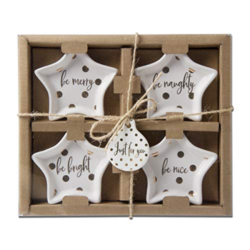 Merry and Bright Star Shape Plate Set