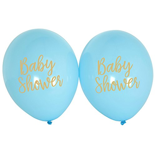 Neviti Pattern Works - Balloons - Baby Shower Blue