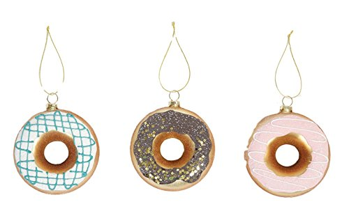 8 Oak Lane Doughnut Hanging Ornaments (Set/3)