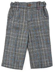 Infant Blue Tweed Pants