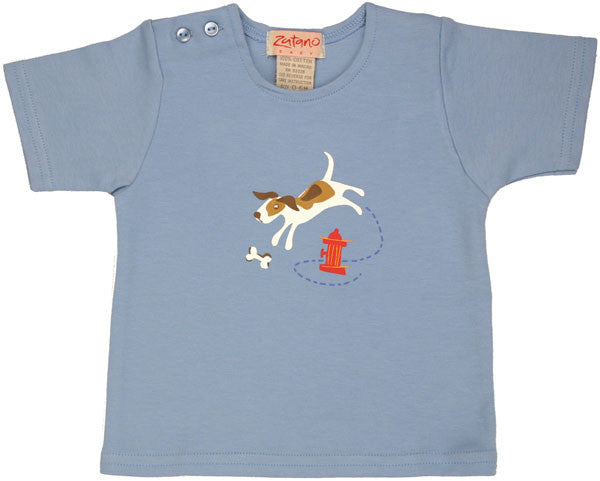 Zutano Good Dog Short Sleeve Infant Tee