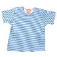 Periwinkle Candy Stripe Short Sleeve Tee