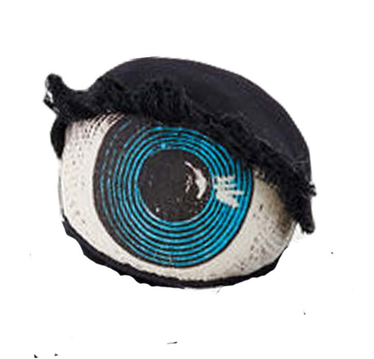 One Hundred 80 Degrees Fabric Eyeball Decoration