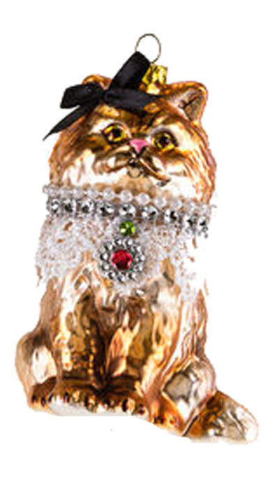 One Hundred 80 Degrees Cat Hanging Ornament