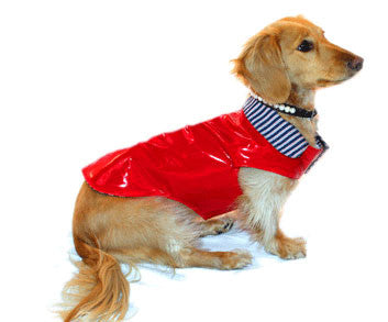 Robin Meyer Rain Slicker Reversible Pet Coat