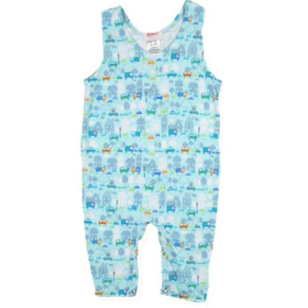 Zutano Rush Hour Infant Overalls