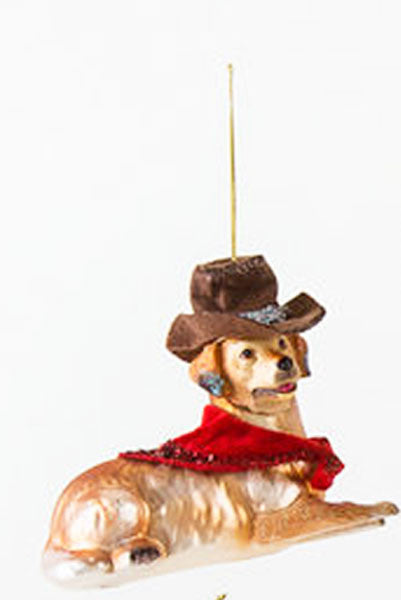 One Hundred 80 Degrees Dog Hanging Ornament