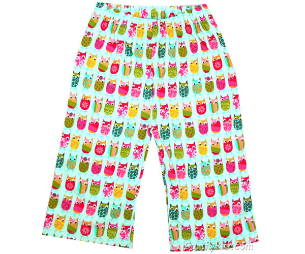 Zutano Owls Infant Pants 6-12 months