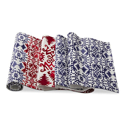 Red White Blue Zumma Table Runner