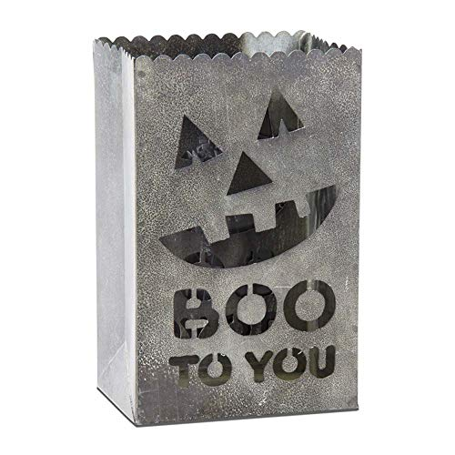 "Halloween ""Boo to You"" Luminary"