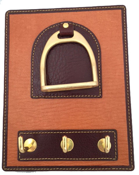 Leather Horse Stirrup Design Key Rack