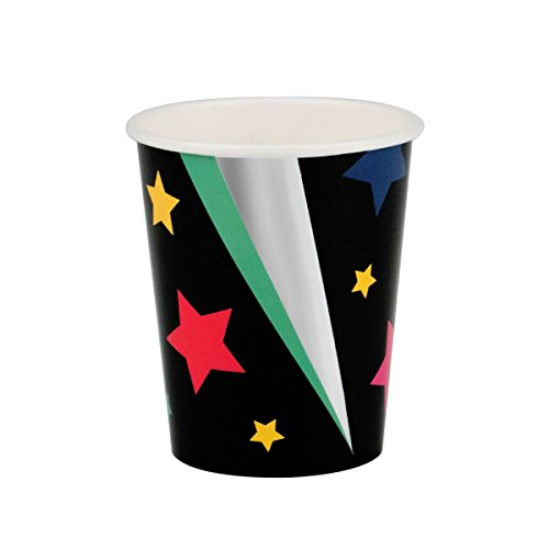 My Little Day Colorful Stars and Silver Foil Paper Cups