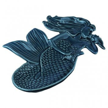 Blue Mermaid Serving Plate