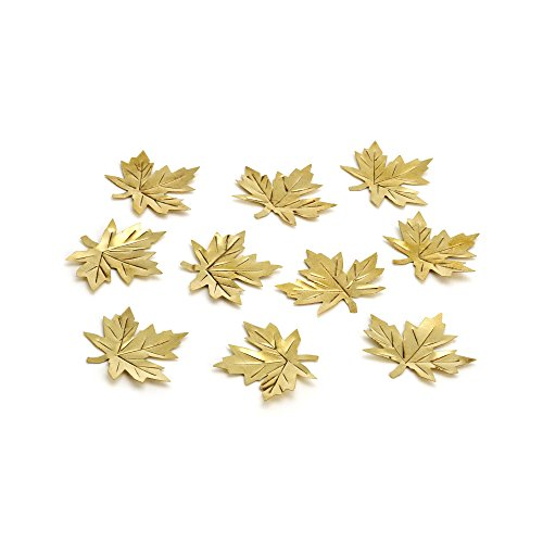 Cassini Metal Maple Leaves Table Scatter