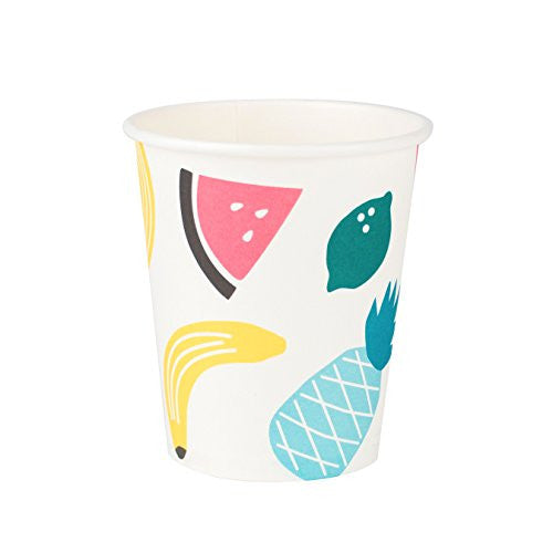 Fruit Design Paper Cups