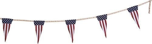 American Flag Pennant Garland Primitives by Kathy