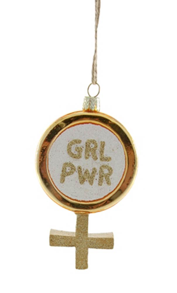 Cody Foster Girl Power Ornament