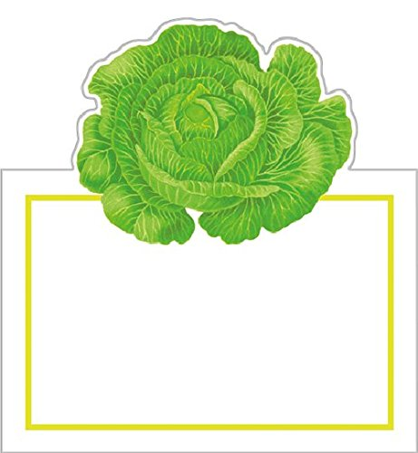 Cut-out Cabbage Tented Placecards