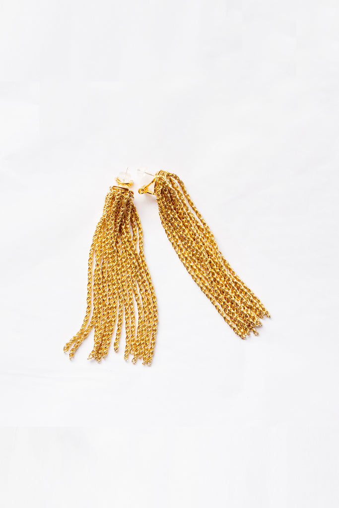 PRE-ORDER / Tina Earrings Gold