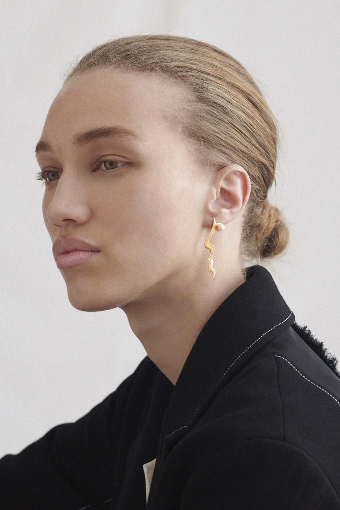 Anissa Kermiche x Rejina Pyo Mini Tete a Tete Earrings