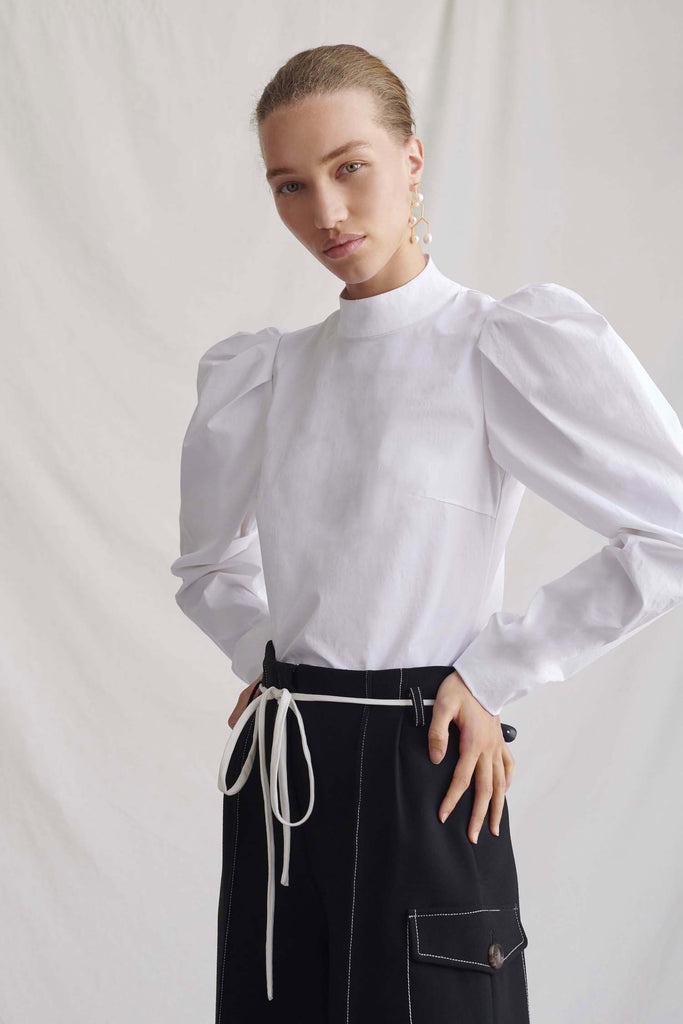Kerry White Blouse