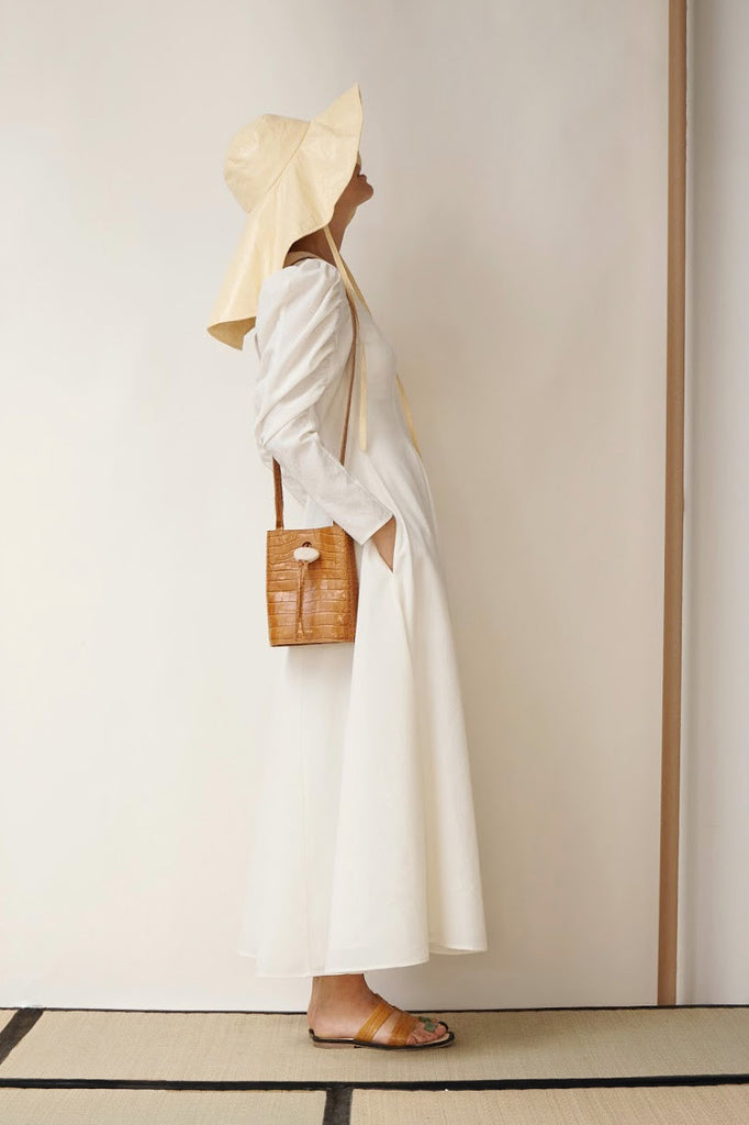 PRE-ORDER / Renee Dress Crepe Ivory