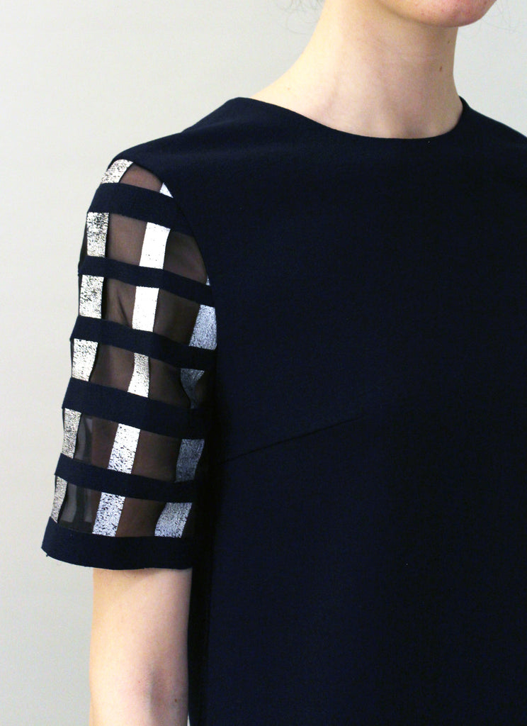 Robyn Hand Crafted Short Sleeved Top