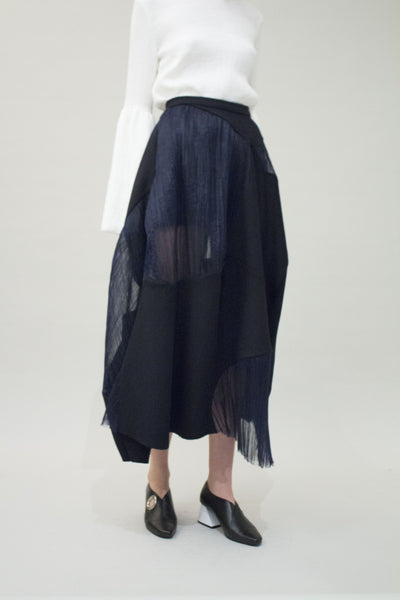 Rock Panelled skirt
