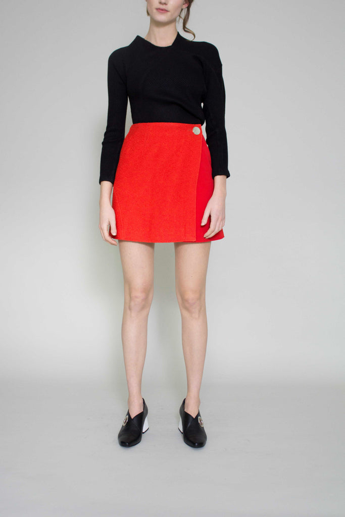 Red Hailey Skirt