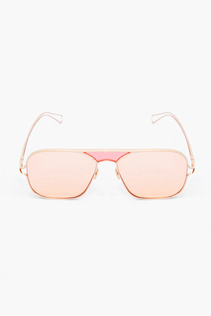 Nix Pink/Copper Sunglasses