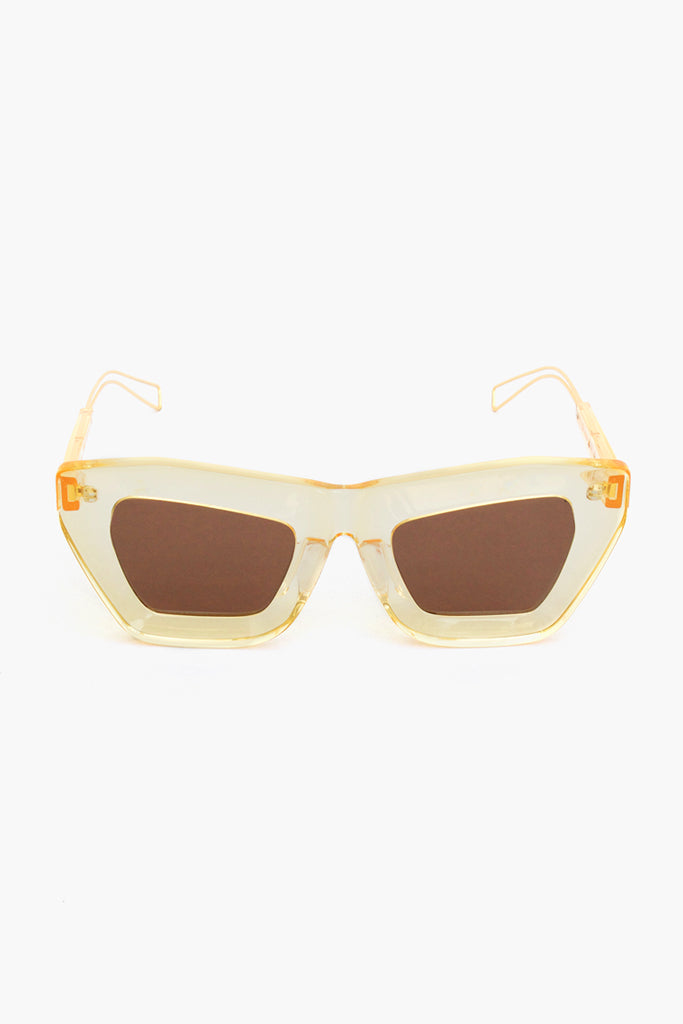 PRE ORDER / Marta Brown/Yellow Sunglasses